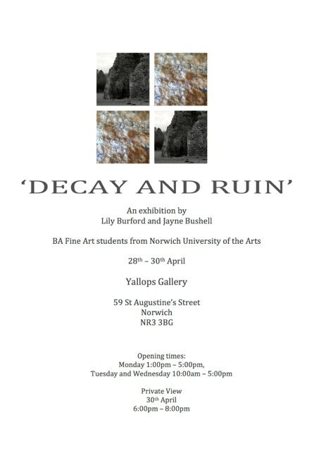 Decay and Ruin poster