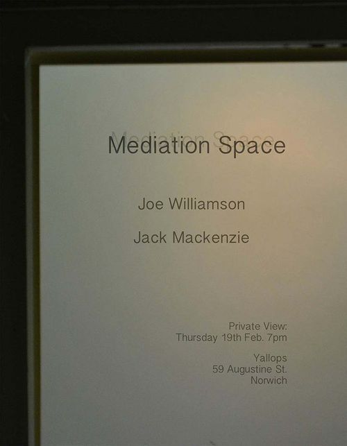 Mediation Space