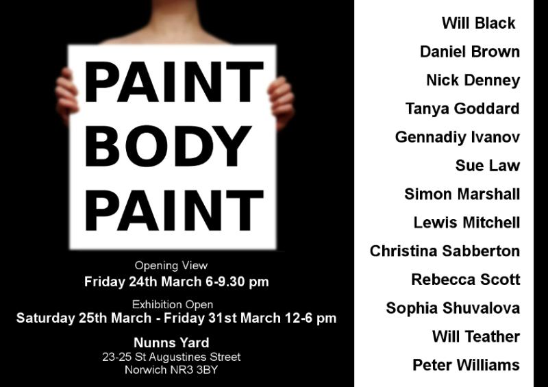 PAINT BODY PAINT POSTER final 01