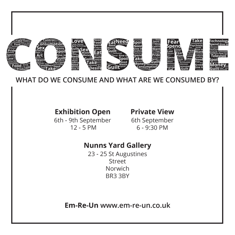 Consume Poster 3-01